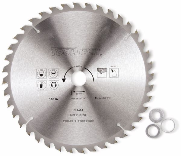 Hartmetall-Kreissägeblatt, 300 mm