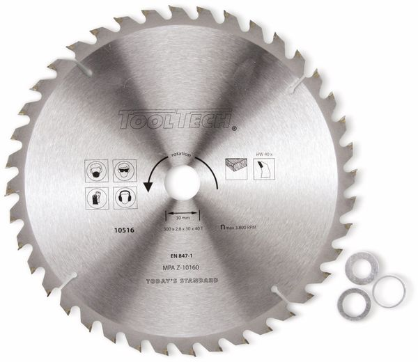 Hartmetall-Kreissägeblatt, 400 mm - Produktbild 1