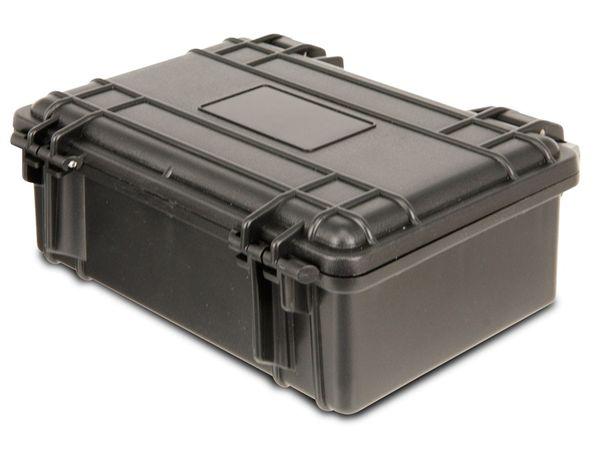 Kunststoff-Gerätekoffer, 210x167x90 mm, schwarz - Produktbild 1