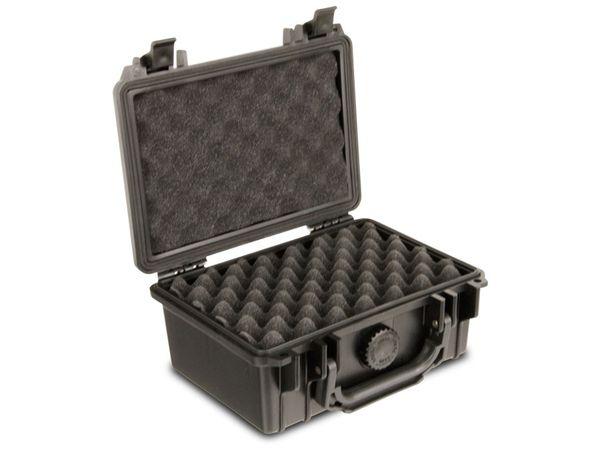 Kunststoff-Gerätekoffer, 210x167x90 mm, schwarz - Produktbild 2