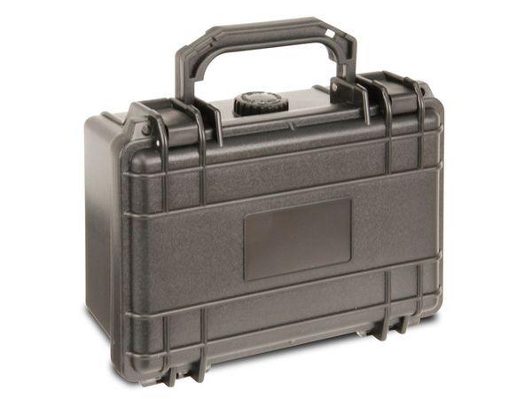 Kunststoff-Gerätekoffer, 210x167x90 mm, schwarz - Produktbild 3