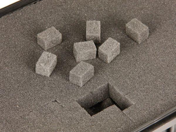 Kunststoff-Gerätekoffer, 210x167x90 mm, schwarz - Produktbild 4