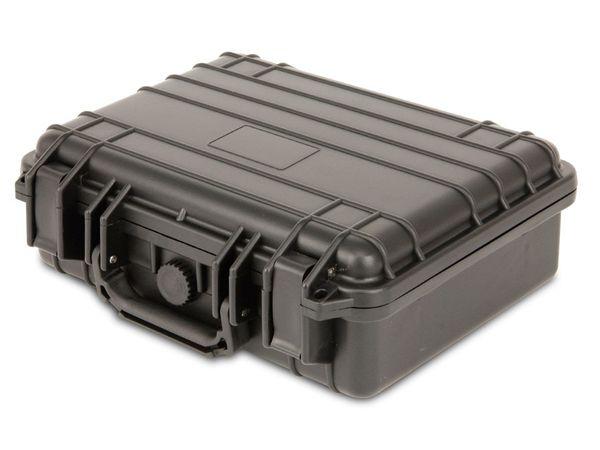 Kunststoff-Gerätekoffer, 330x280x125 mm, schwarz - Produktbild 1