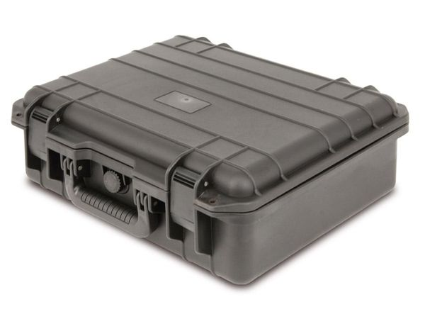 Kunststoff-Gerätekoffer, 430x380x165 mm, schwarz