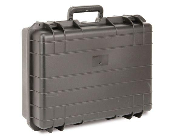 Kunststoff-Gerätekoffer, 520x415x200 mm, schwarz