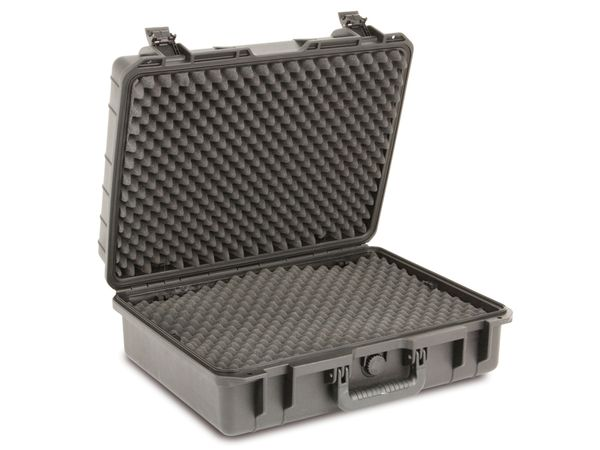 Kunststoff-Gerätekoffer, 520x415x200 mm, schwarz - Produktbild 2
