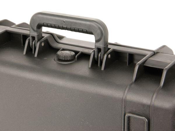 Kunststoff-Gerätekoffer, 520x415x200 mm, schwarz - Produktbild 3