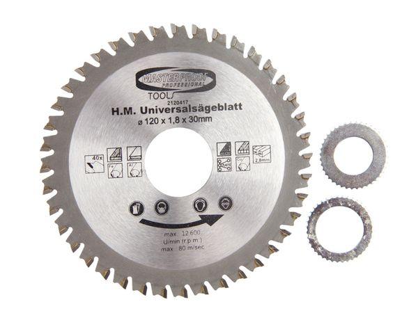 Universal-Sägeblatt, 120 mm, 40 Zähne