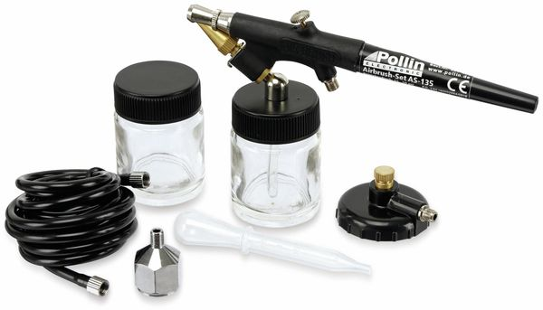 Airbrush-Set AS-135 - Produktbild 1