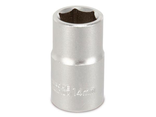 Steckschlüssel, 14 mm