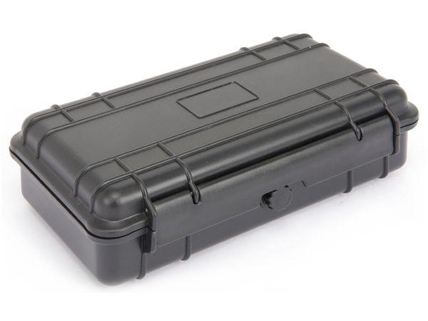 Kunststoff-Gerätekoffer, 230x135x70 mm, schwarz - Produktbild 1