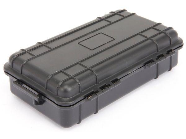 Kunststoff-Gerätekoffer, 230x135x70 mm, schwarz - Produktbild 2