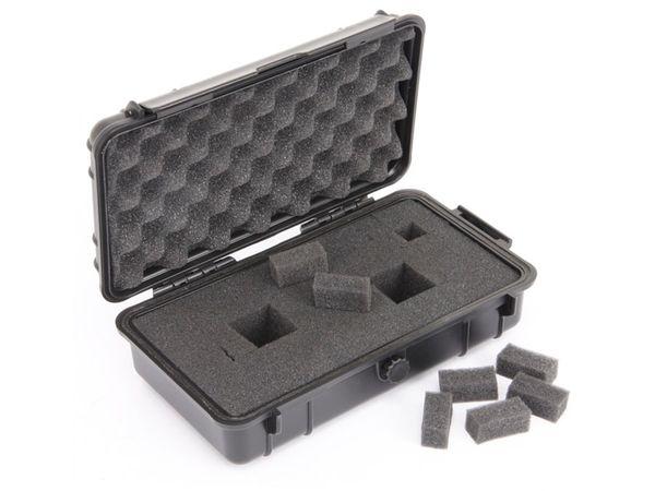 Kunststoff-Gerätekoffer, 230x135x70 mm, schwarz - Produktbild 3