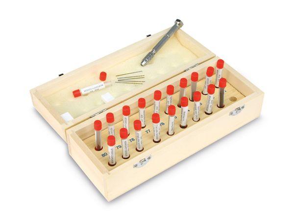 HSS Miniatur-Bohrerset DAYTOOLS MBS-100, 0,35...1 mm, 100 Stück