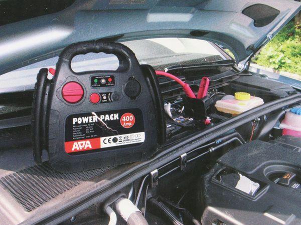 Starthilfegerät APA, 500 A, inkl. Kompressor 18 bar - Produktbild 5