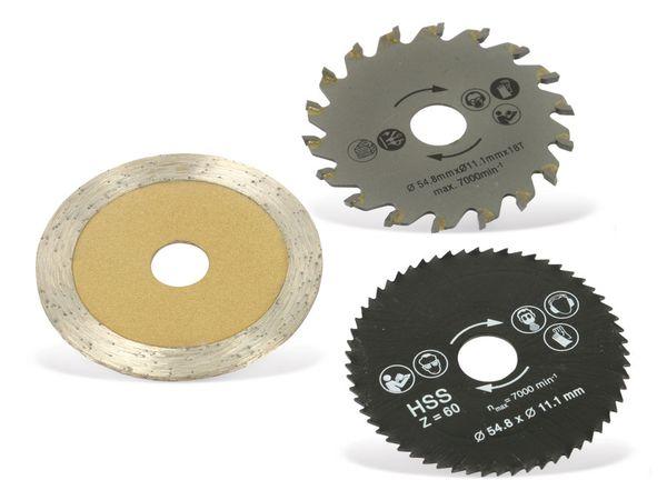 Mini-Sägeblätter DAYTOOLS SB-54.8-3, 54,8 mm, 3-teilig