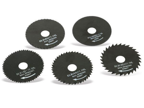 Mini-Sägeblätter DAYTOOLS SB-50.8-5, 50,8 mm, 5-teilig - Produktbild 2