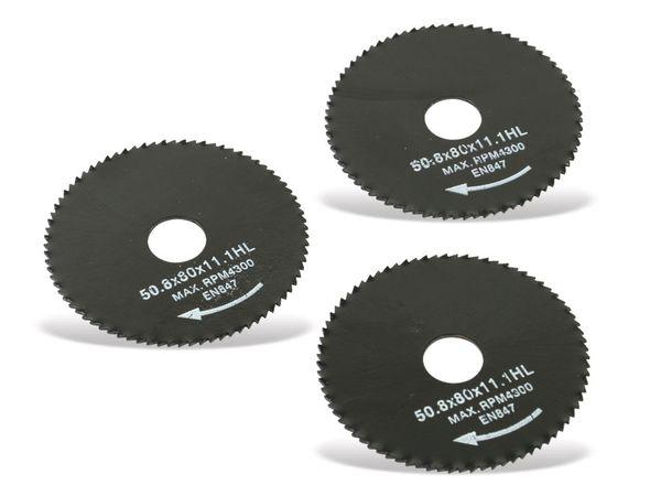 Mini-Sägeblätter DAYTOOLS SB-50.8-3, 50,8 mm, 3-teilig