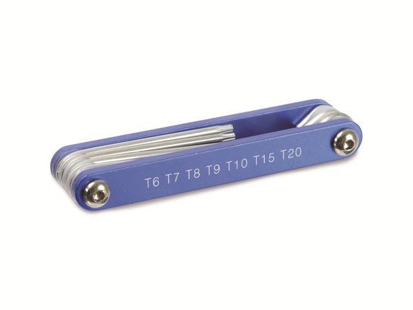 Innenstern-Schlüsselsatz, BGS mit Aluheft - Produktbild 1