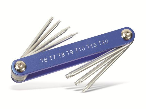 Innenstern-Schlüsselsatz, BGS mit Aluheft - Produktbild 2