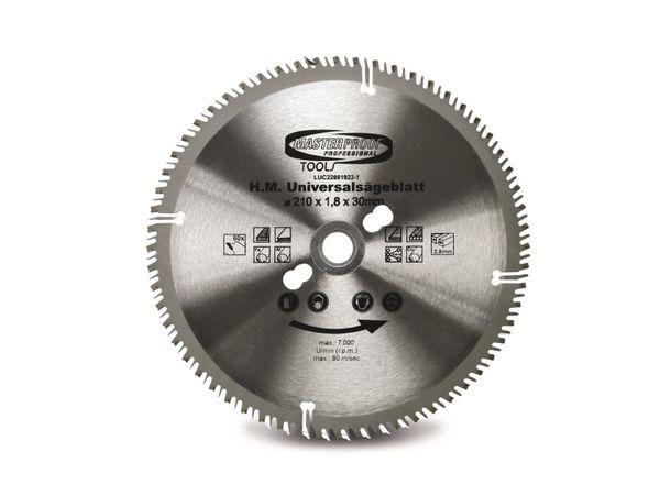 Universal-Sägeblatt, 210 mm, 60 Zähne