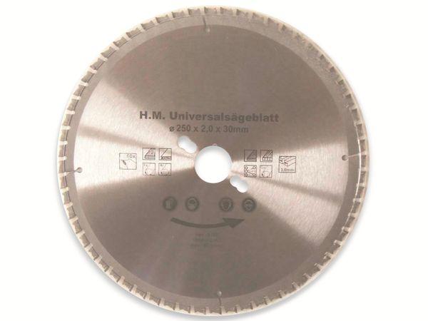 Universal-Sägeblatt, 250 mm, 60 Zähne