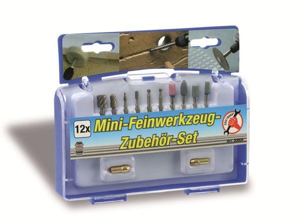 Fräser-/Schleifsteinset, 12-teilig - Produktbild 2