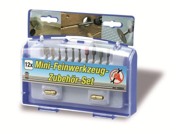 Fräser-/Schleifsteinset, 12-teilig - Produktbild 3