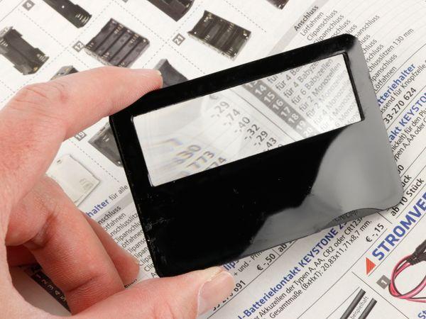 Scheckkarten-Lupe - Produktbild 5