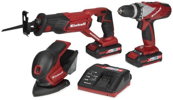 Akku-Werkzeug-Set EINHELL TE-TK 18 Li, 5 teilig - Produktbild 1