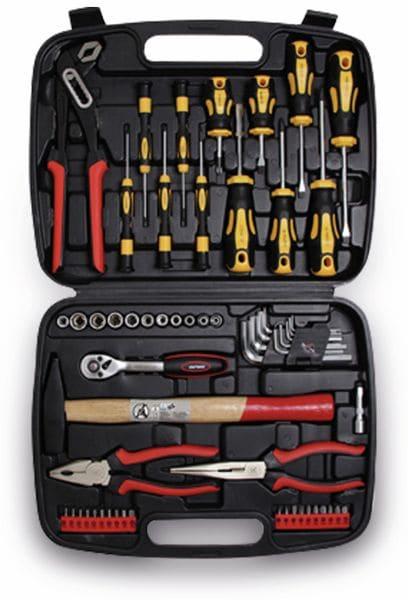 Werkzeugkoffer, 58 teilig