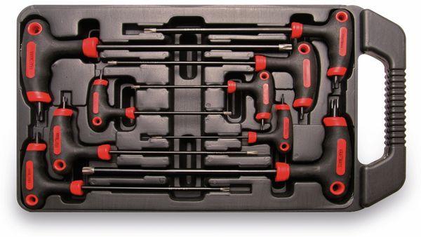 T-Griff-Innensternschlüssel-Set, 9-teilig