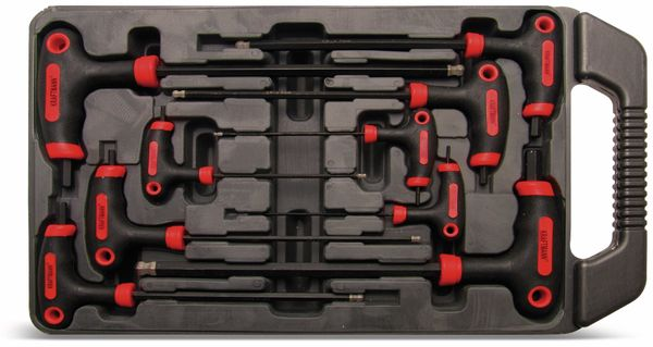T-Griff-Innensechskantschlüssel-Set, 9-teilig