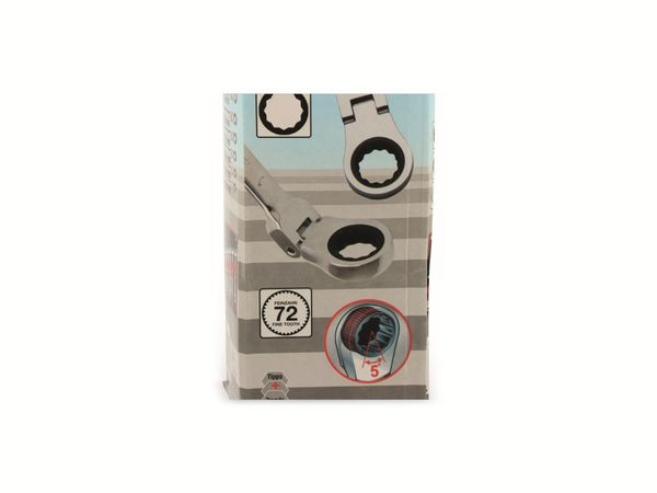 Gabel-Ratschenring-Schlüsselsatz, KRAFTMANN, 12-teilig, 8-19 mm - Produktbild 3