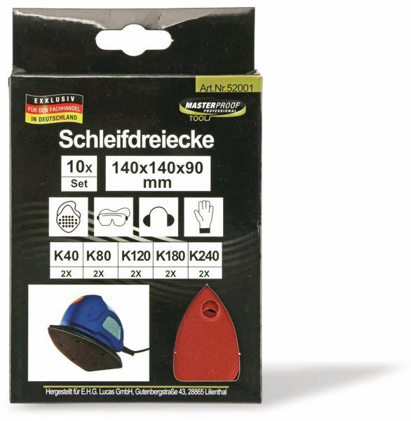 Schleifdreiecke-Set, 10 Stück - Produktbild 2