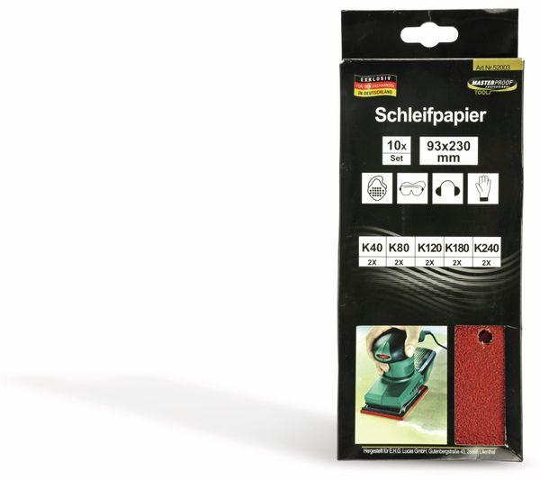 Schwing-Schleifpapier-Set, 10 Stück - Produktbild 3
