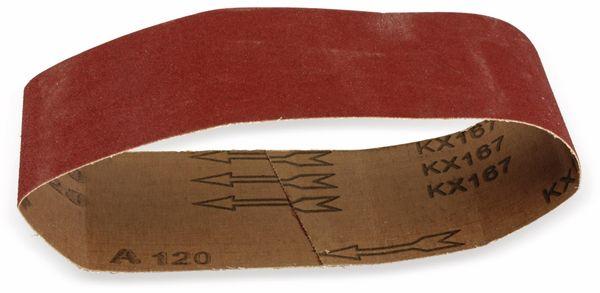 Schleifpapier für Bandschleifer, 5 Stück, K120 - Produktbild 1