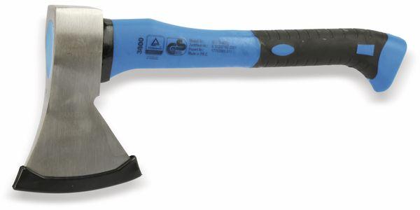 Universalbeil BGS 3801, mit Fiberglasstiel, blau/schwarz