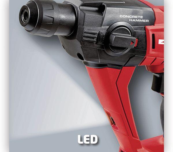 Akku-Bohrhammer EINHELL 4513812, TE-HD 18 Li Solo - Produktbild 4