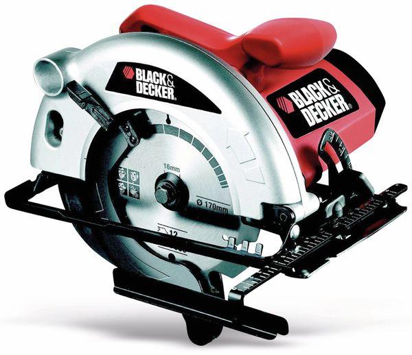 Handkreissäge BLACK & DECKER CD 601, 1100W, B-Ware - Produktbild 1