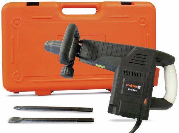 Abbruchhammer MEISTER MAH 1500-1, B-Ware - Produktbild 1