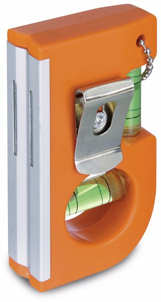 Wasserwaage mit Magnet und Clip, 2er Set - Produktbild 2