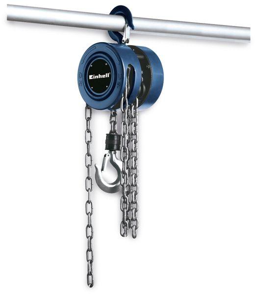 Kettenflaschenzug EINHELL BT-CH 1000, Hubhöhe 2,5 m, blau - Produktbild 1