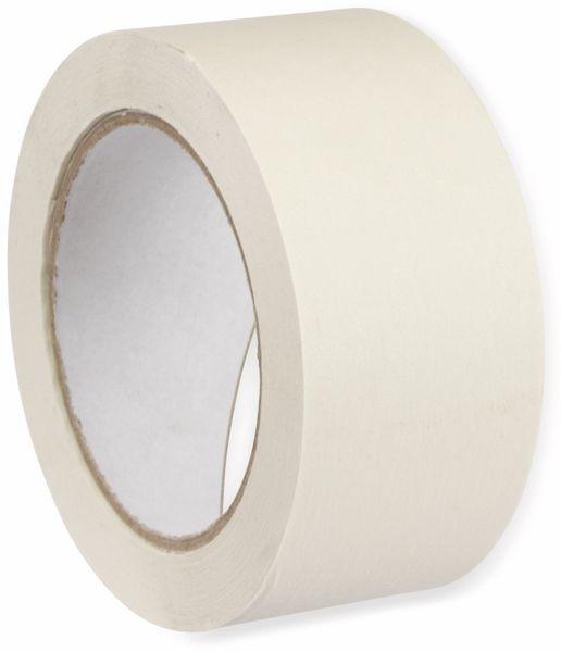 Flachkrepp-Klebeband, Gerband 136, für Malerarbeiten 50 m - Produktbild 2