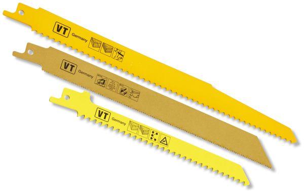Sägenblätter-Set, 3-teilig für Multi-Elektrosägen - Produktbild 1