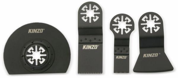 Zubehör Set für Multifunktionswerkzeuge KINZO, 4 teilig - Produktbild 1