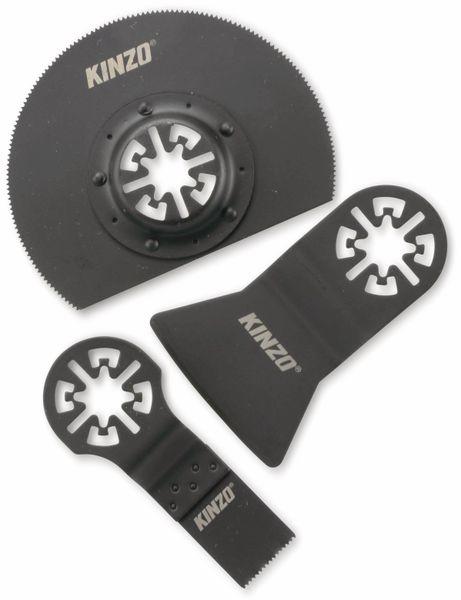 Zubehör Set für Multifunktionswerkzeuge KINZO, 4 teilig - Produktbild 3