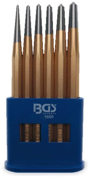 Körner-Satz BGS 1656, 6-teilig 3…8 mm