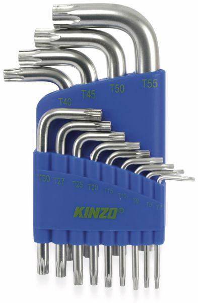 Innenstern-Schlüsselsatz, KINZO, 13-teilig - Produktbild 1