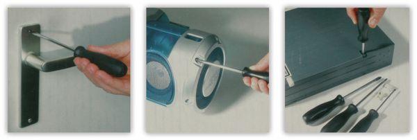 Schraubendreher-Set, KINZO, 7-teilig - Produktbild 2